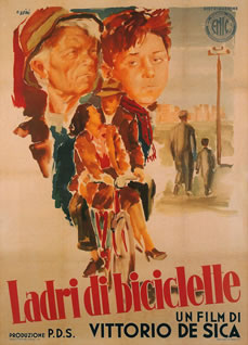 Bicycle Thieves poster from djardine.blogspot.com