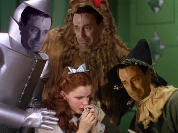 Sad Don Draper in Oz